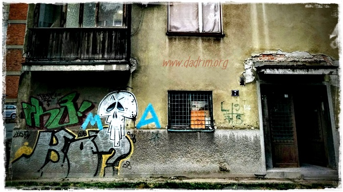 Graffito Teschio